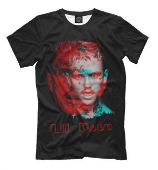 Мужская футболка Lil peep psychedelic