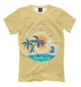 Мужская футболка Summer Time