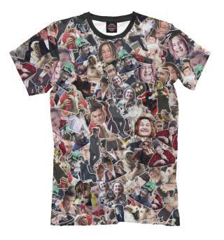 Мужская футболка Моргенштерн стикербомбинг