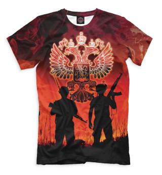 Мужская футболка Солдаты