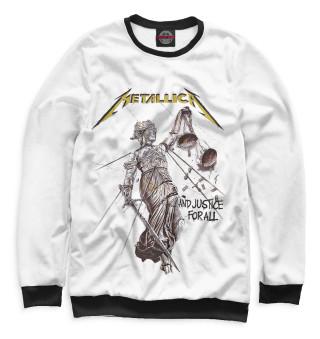 Мужской свитшот Metallica And Justice for All
