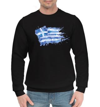 Греческий флаг Splash