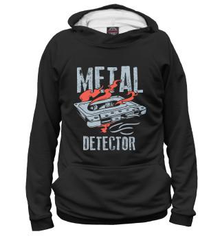 Мужское худи Metal detector