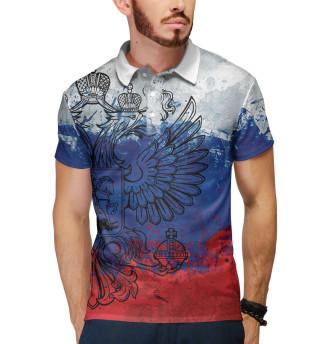 Триколор и герб России