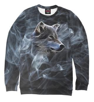 Мужской свитшот Волк