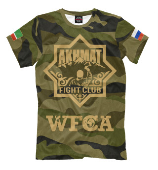 Мужская футболка Федерация WFCA
