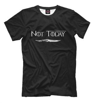 Мужская футболка Not today