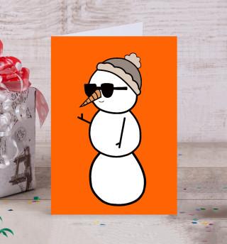 Крутой снеговик