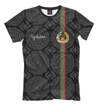 Мужская футболка Таджикистан