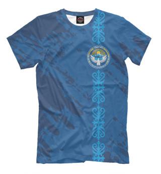 Мужская футболка Киргизия