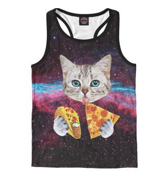 Котик с Пиццей