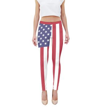 Леггинсы Флаг США