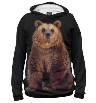 Мужское худи Медведь