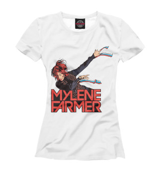 Женская футболка Mylene Farmer