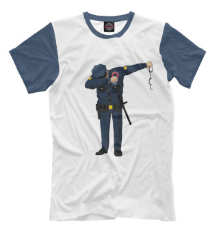 Мужская футболка Police in the trend