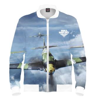Мужской бомбер World of Warplanes