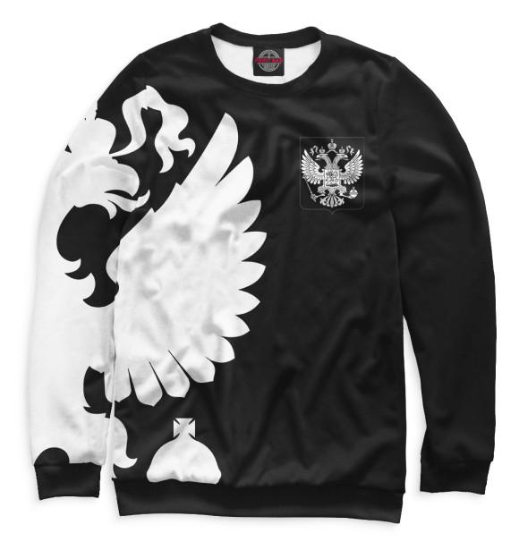 Герб России / Белый на Черном