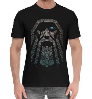 Мужская хлопковая футболка Один