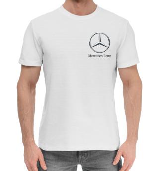 Мужская хлопковая футболка Mercedes-Benz
