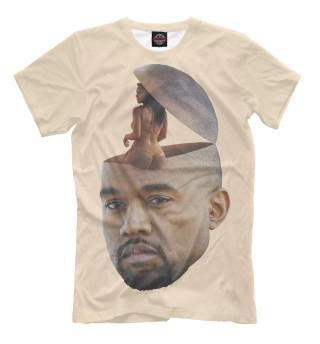 Женская футболка Любовь в голове