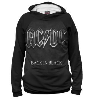 Мужское худи AC/DC Back in Black
