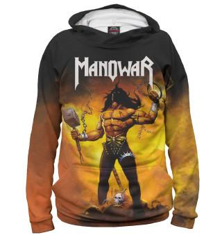 Мужское худи Manowar