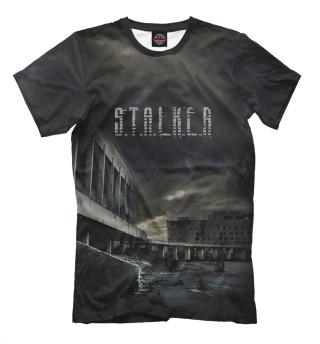 Мужская футболка Сталкер