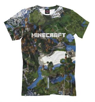 Мужская футболка Minecraft