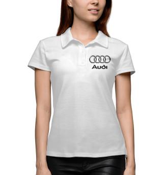 Женское поло Audi