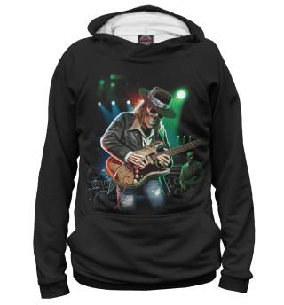 Мужское худи Гитарист