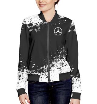Женский бомбер Mercedes-Benz abstract sport uniform