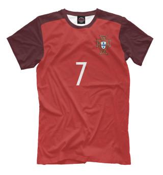 Мужская футболка Криштиану Роналду Форма Сборной Португалии