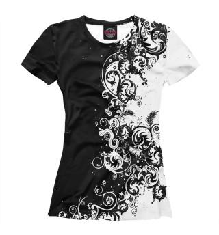 Женская футболка Орнамент