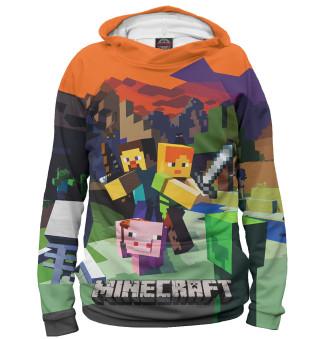 Худи для мальчика Minecraft