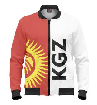Мужской бомбер Киргизстан