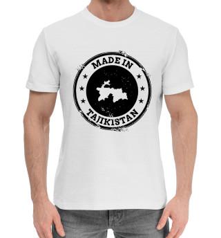 Мужская хлопковая футболка Tajikistan