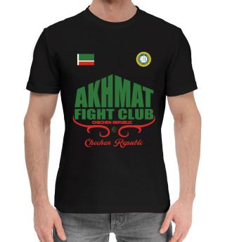 Мужская хлопковая футболка ахмат