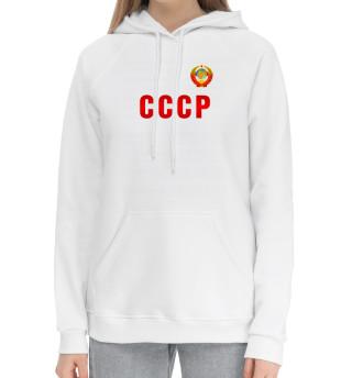 Женский хлопковый худи СССР