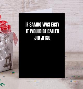 If Sambo Was Easy