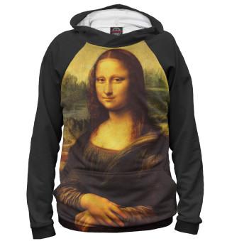 Мужское худи Мона Лиза Джоконда
