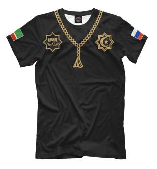 Мужская футболка Чечня Ахмат
