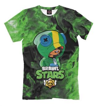 Футболка для мальчиков Brawl Stars LEON