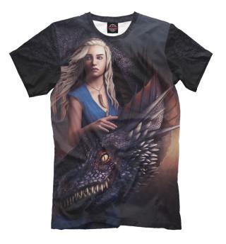 Мужская футболка Мать драконов