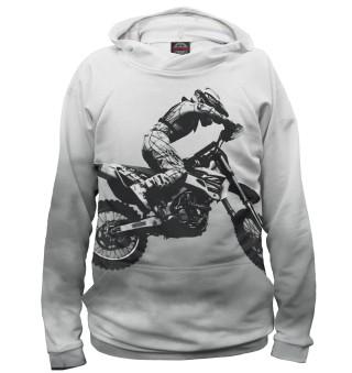 Мужское худи Мотоциклист