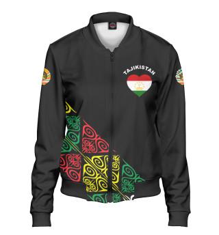 Женский бомбер Таджикистан