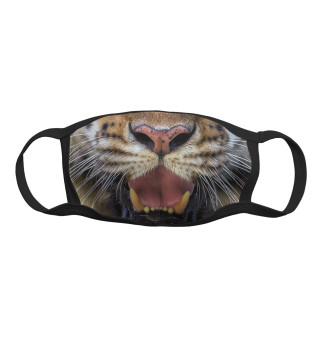 Маска тканевая Тигр