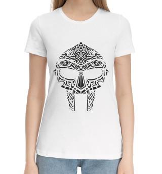 Женская хлопковая футболка MF Doom