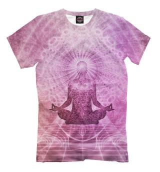 Мужская футболка Медитация