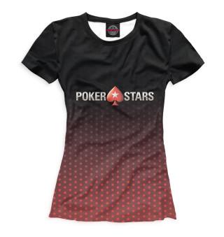 Футболка для девочек Pokerstars