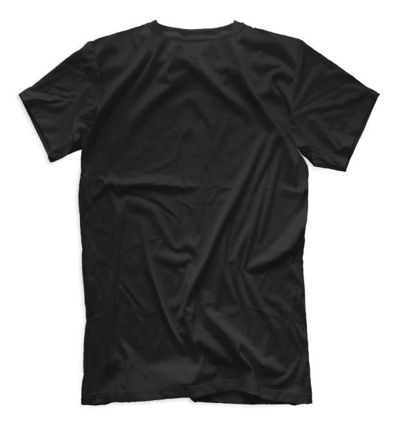 Мужская футболка с изображением Mercedes-Benz цвета Черный